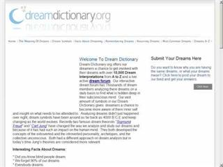 www.dreamdictionary.org